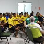 Seleção brasileira de futebol de 7 teve palestra com a psicóloga Suzy Fleury